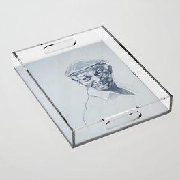 Ibrahim Ferrer de mi corazón Acrylic Tray