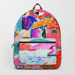 Henri Matisse Les toits de Collioure Backpack
