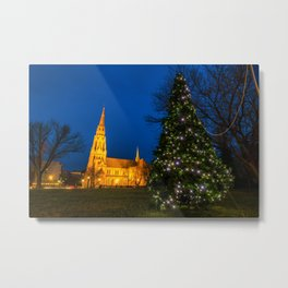 Starburst tree Metal Print