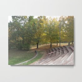 Seats Metal Print
