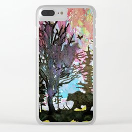 colours of nature Clear iPhone Case