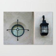 Window And Light Canvas Print