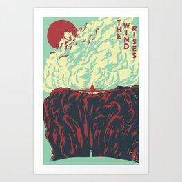The Wind Rises: English Version Art Print