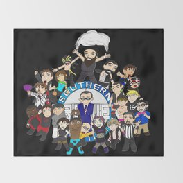 Southern Premier Wrestling Happy Birthday Throw Blanket