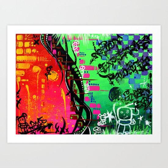 """ACTION EXPRESSES PRIORITIES"" Art Print"