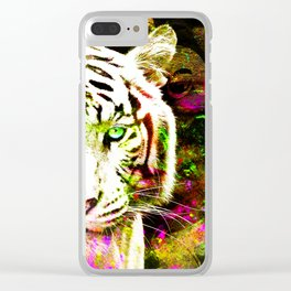 Mystic Meditation Clear iPhone Case