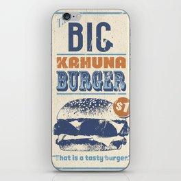 Big Kahuna Burger iPhone Skin