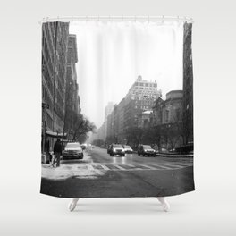 Galoshes in the City Shower Curtain