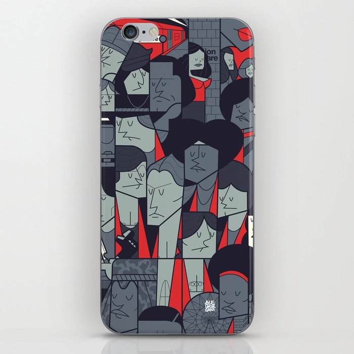 The Warriors iPhone Skin