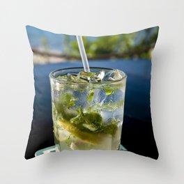 Drink Mojito Throw Pillow