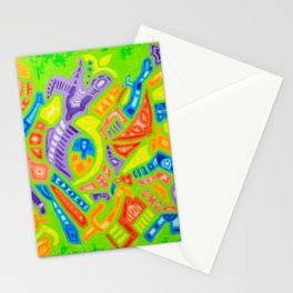 Spring Abstraction #2 Stationery Cards