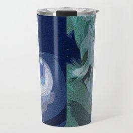 Blue vs Green Travel Mug