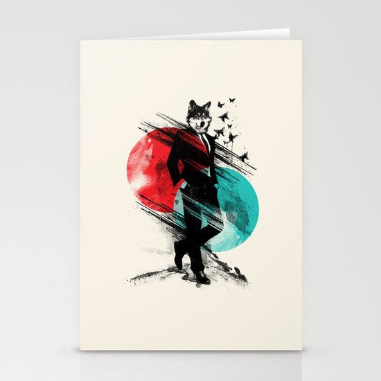 Wolfman Stationery Cards