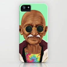 Hipstory -  mahatma gandhi iPhone SE Slim Case