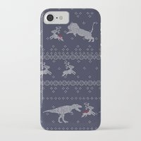 sweater iPhone & iPod Cases featuring Ugly Sweater by Sarinya  Withaya