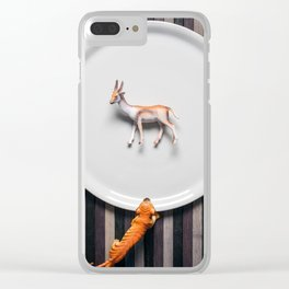 Hunting Clear iPhone Case