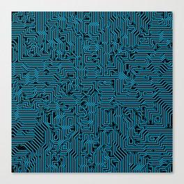 Reboot BLUE Canvas Print