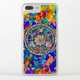 TRIFORCE ABSTRACT Clear iPhone Case