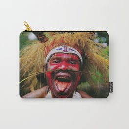 Eating a Betel Nut in Papua New Guinea Carry-All Pouch