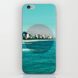 Rio de Janeiro, Copacabana, Ipanema, Beach II iPhone Skin