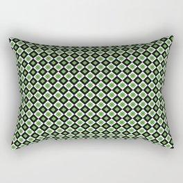 CHECK IT GREEN Rectangular Pillow