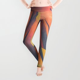 Sienna Sails at Sunset Leggings