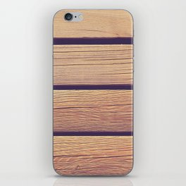 Wood Planks iPhone Skin