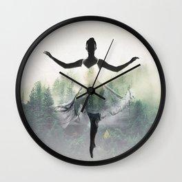 Forest Dancer Wall Clock