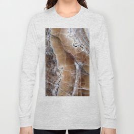 Marble Paint Formation Long Sleeve T-shirt