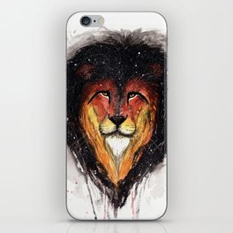Fire Lion. iPhone Skin