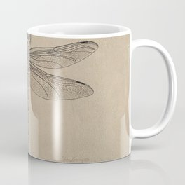 Dragonfly Fossil Dos Coffee Mug