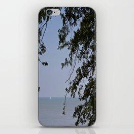 Sailing Frame iPhone Skin