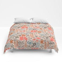 Mongolian Expanse Pattern Comforters