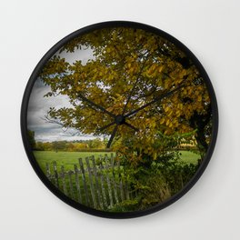 French Countryside Wall Clock