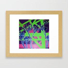 Abstract Flower-1 Framed Art Print