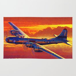 Boeing B-29 Superfortress Rug