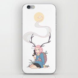 The Backpacker iPhone Skin