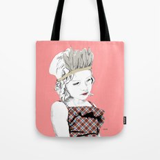 Little Indian Girl Tote Bag