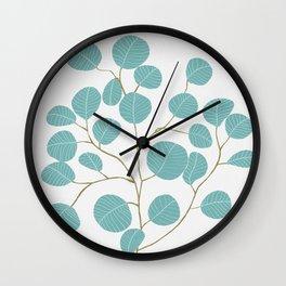 Eucalyptus No. 1 Wall Clock