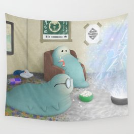 Wog-Jop Worms Wall Tapestry