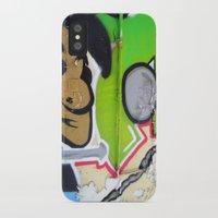 grafitti iPhone & iPod Cases featuring Grafitti Boy by Paulbo