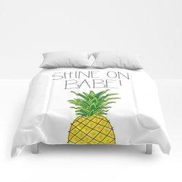 Pineapple Shine On Comforters