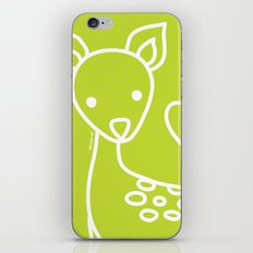 Green Deer iPhone Skin