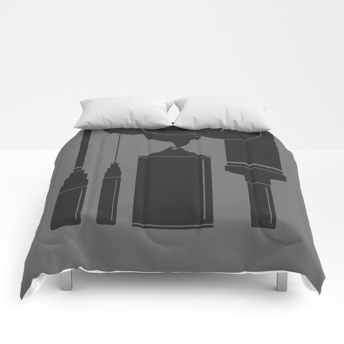 Art Supplies Grey Comforters