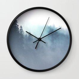 Faded Echos Wall Clock