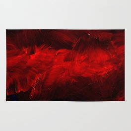 Cool Red Duvet Cover Rug