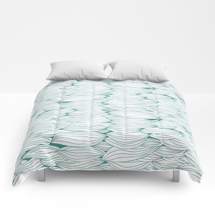 Dancing Feathers Comforters