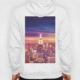 New York City Dusk Sunset Hoody