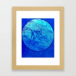 Young Hare Moon Framed Art Print