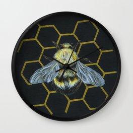 Bumble Bee Wall Clock